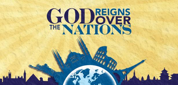 image of God reigns over the nations