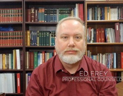 Pastor Ed Frey