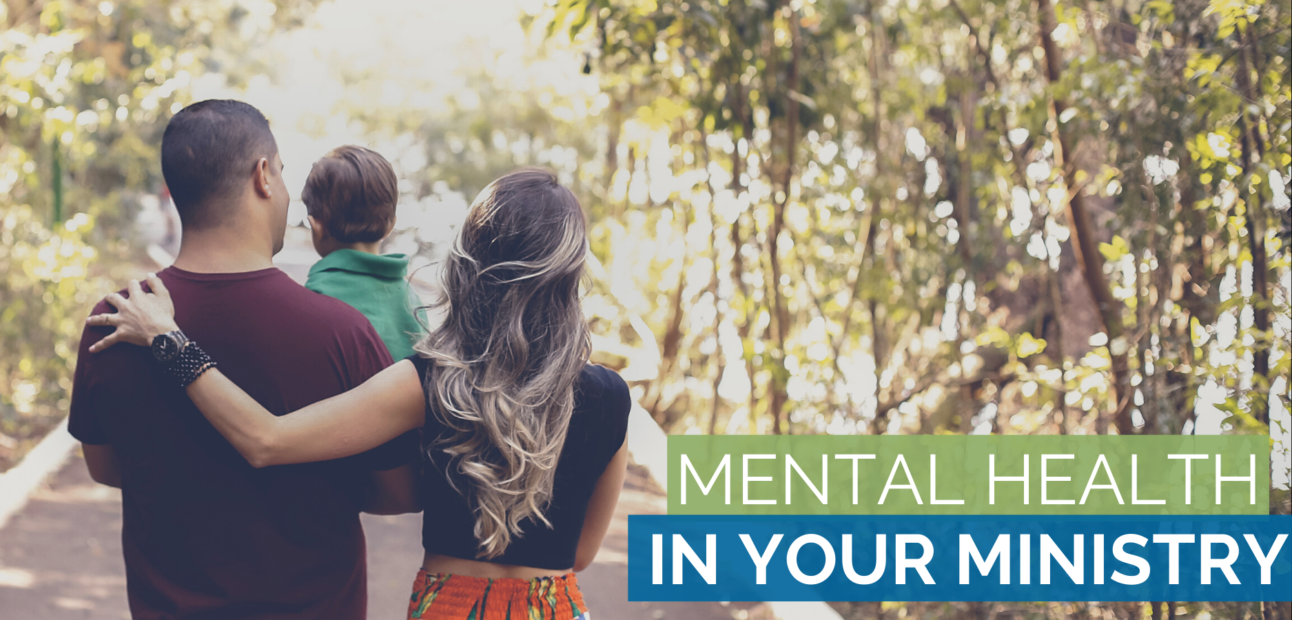 Mental health in your ministry graphic