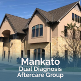 Mankato dual diagnosis aftercare group with image of Mankato location