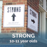 STRONG sign with STRONG 10-11 year olds