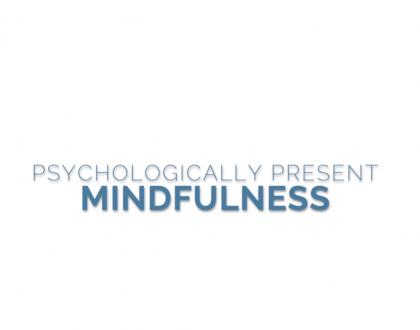 mindfulness wording