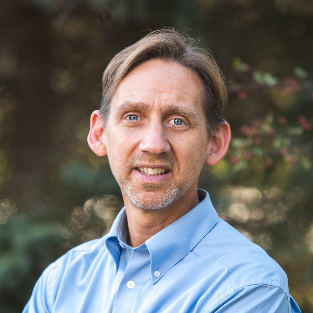 headshot of Pastor Jeffrey Bonack