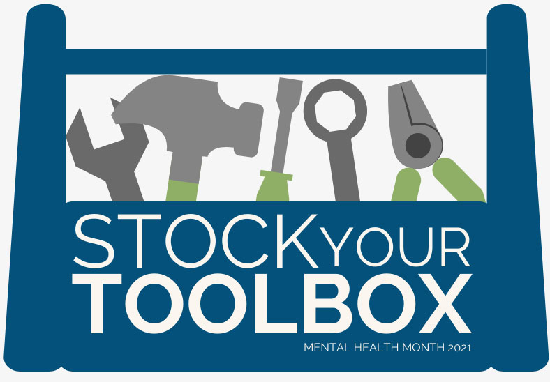 cover image of Stock Your Toolbox toolkit - graphic of a toolbox
